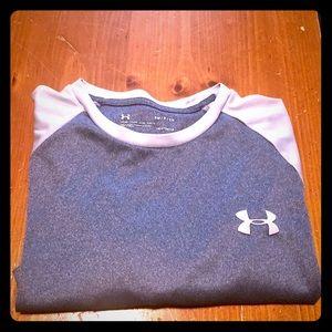 Men's Under Armour LS Heatgear Tech shirt-sz S